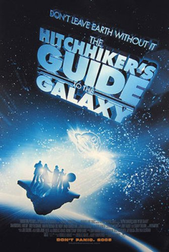 the-hitchhikers-guide-to-the-galaxy-double-sided-international-27x40-sam-rockwell-mos-def-poster