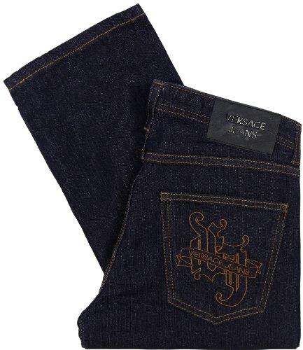 Versace Jeans Men's Dark Indigo Regular Fit Jeans (30)