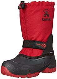 Kamik Snoday Insulated Winter Boot (Toddler/Little Kid/Big Kid), Red, 13 M US Little Kid