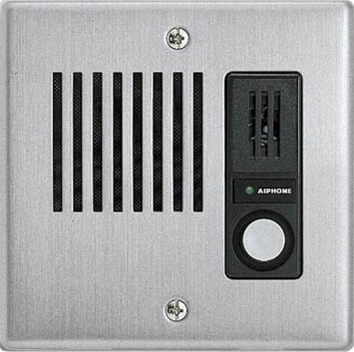 """Aiphone Corporation Ie-Ja Door Station For Ax, Ie, Ipw-1A, Kb, Or Td-H Series, Stainless Steel Faceplate, 4-9/16"""" X 4-1/2"""" X 3-5/16"""""""