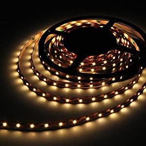 5 Meter Reel Warm White 2700k Flexible LED Ribbon 300 Leds 16 Ft by LEDwholesalers, 2026ww-27k