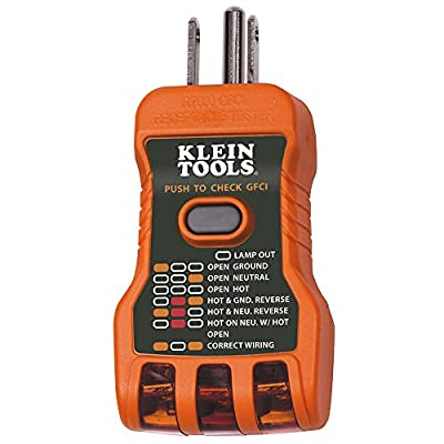 Klein Tools Rt600 Gfci Receptable Tester