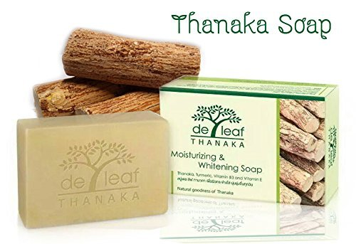 1pcs Deleaf Thanaka Herbal Soap