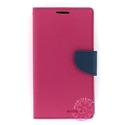 Tingtong Mercury Goospery Diary Wallet Flip Case Back Cover for Samsung Galaxy Grand Quattro GT-I8552 - Pink Blue  available at amazon for Rs.249