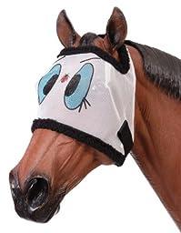 Tough-1 Novelty Ladybug Mesh Fly Mask Bonnet Without Ears (Medium Minature)