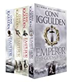Conn Iggulden Emperor Series: The Gates of Rome, The Death of Kings, The Field of Swords, The Gods of War