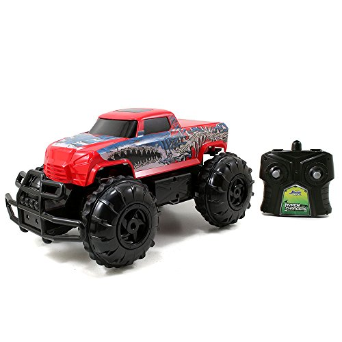 Jada Toys HyperChargers 1:16 Water and Land R/C Vehicle, Red (Monster Trucks Rc compare prices)