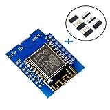 Makerfocus D1 Mini NodeMcu 4M Bytes Lua WiFi Development Board Base on ESP8266 ESP-12F N Compatible NodeMcu Arduino (Color: D1 Mini)