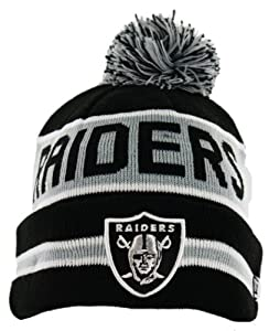 NFL Oakland Raiders The Coach Knit Hat