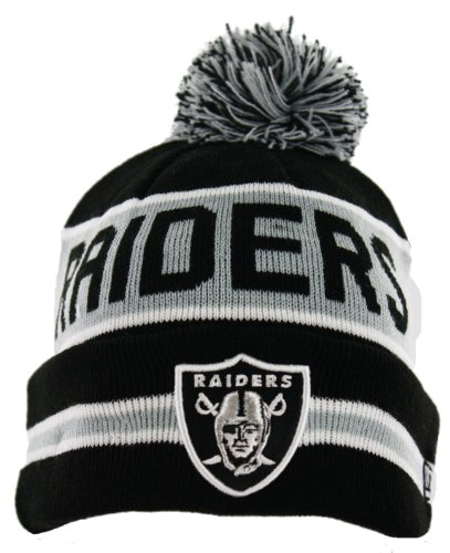 NFL Oakland Raiders The Coach Knit Hat at Amazon.com