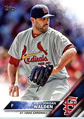 2016 Topps #106 Jordan Walden St. Louis Cardinals Baseball Card