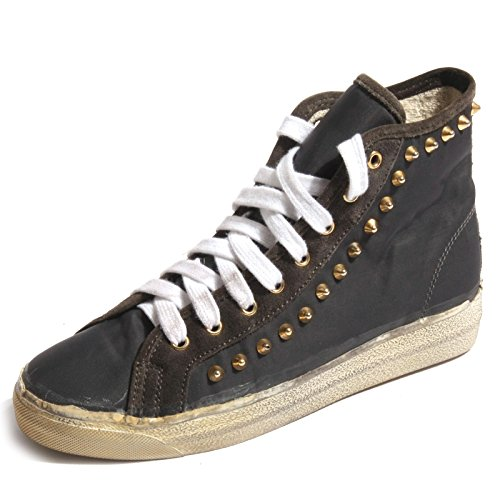 B0241 sneaker donna CYCLE scarpa grigia borchie shoes women without box [40]