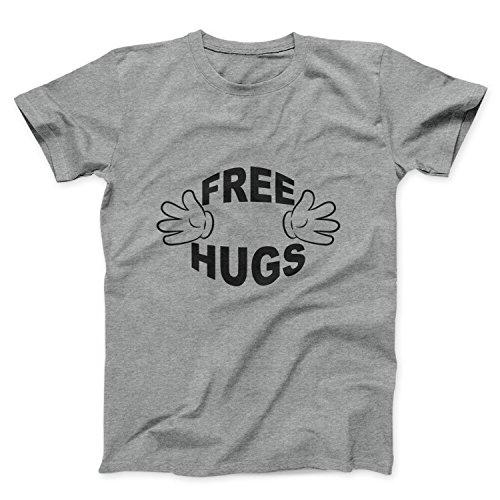 Free Hugs Fun Maglietta T Shirt Donna - Express Dispatch - S M L XL XXL sizes