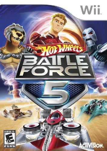 Hot Wheels: Battle Force 5 - Nintendo Wii - 1