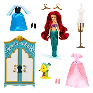 Disney Ariel The Little Mermaid Wardrobe Doll Play Set