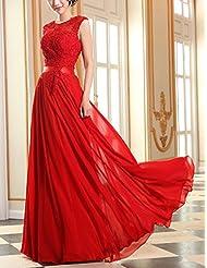 Suchergebnis auf Amazon.de für: rote abendkleider: Bekleidung