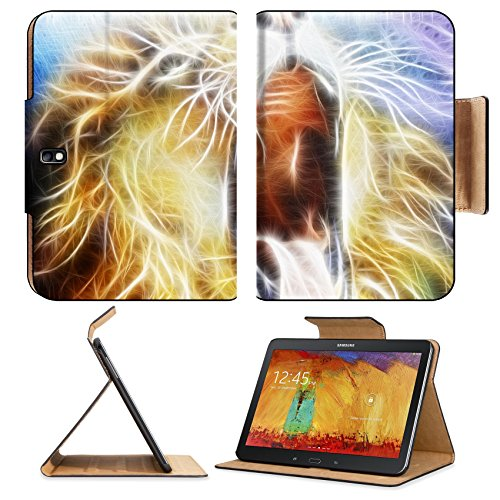 samsung-galaxy-tab-pro-101-tablet-flip-case-lion-fractal-abstract-cosmical-background-image-35819501