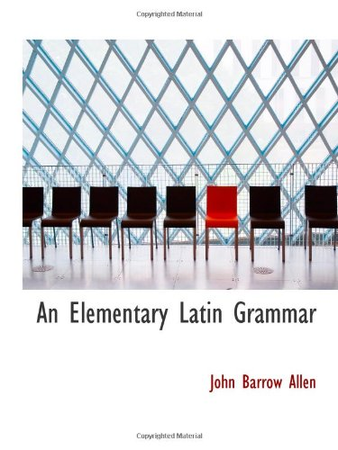 Una gramática latina elemental