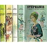Stéphanie Complet 4 volumes ,I l'amour a quatre saisons II Stépahnie, puisque je t'aime III Stéphanie, le prix...
