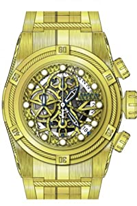Invicta Men's 12763 Bolt Automatic 3 Hand Gold Dial Watch