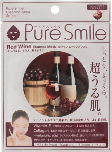 ピュアスマイルエッセンスマスクシリーズ 赤ワイン30枚セット