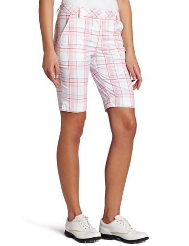 jksara product sale puma women 39 s golf plaid tech shorts. Black Bedroom Furniture Sets. Home Design Ideas