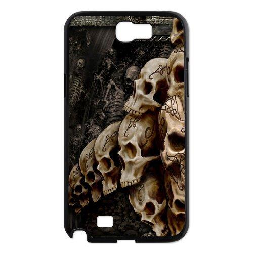 Samsung Galaxy Note 2 N7100 Skull Phone Back Case Art Print Design Hard Shell Protection Aq030323
