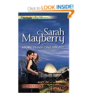 More Than One Night (Harlequin Superromance) Sarah Mayberry