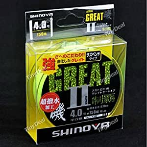 """SHINOYA"" Nylon Extreme Strong Wearable 150m Fishing Line 2.5-6.0# SFS-296328"