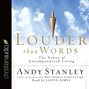 Louder than Words Audiobook