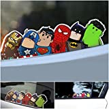 Excited Funny Avengers Car Stickers Self-adhesive, Magnificent for Interior or Exterior Decoration, Feature of description There is No Background, The background is whatever you apply it to, You can place it on your car, window, laptop, iPad,...
