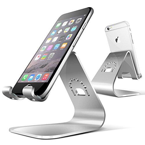 Spinido® TI-APEX Series iPhone対応 デスクスタンド メグネシウム‐アルミニウム合金 (iPhone,silver)