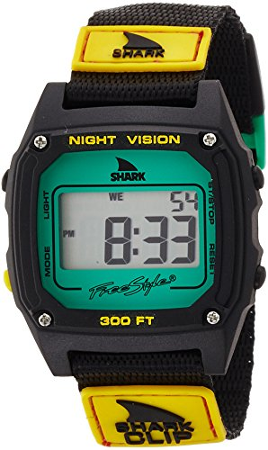 Freestyle Unisex 10019182 Shark Clip Digital Display Japanese Quartz Black Watch (Womens Shark Clip Watch compare prices)
