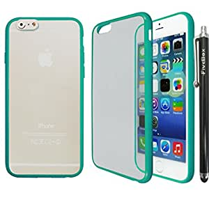 FiveBox TPU Frosted Soft Phone Cover Case For Apple iphone 6 (4.7 inch) - Sea Green