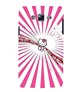 printtech Kitty Cat Animated Cartoon Back Case Cover for Samsung Galaxy Core Prime G360