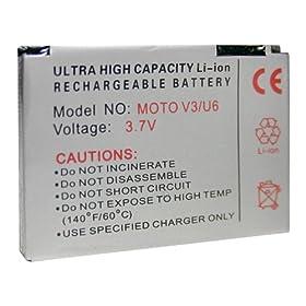 Accumulatore Li-Ion Motorola RAZR maxx V6 V3 Pebl U6 V3i ecc.