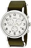 [タイメックス]TIMEX NEW ウィークエンダー クロノグラフ 40mm クリームダイアル オリーブNATOストラップ TW2P71400 メンズ 【正規輸入品】