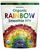 Organic Rainbow Smoothie Mix, Boost Your Health The Easy Way By Adding In Our Whole Food Fruit And Vegetable Superfood Powder Supplement To Your Next Shake, Fill The Nutrient Gaps In Your Diet