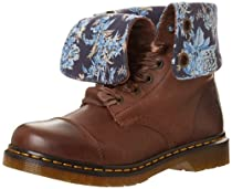 Hot Sale Dr. Martens Women's Aimilie Boot,Dark Brown Darkend Mirage,4 UK/6 M US