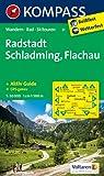 Radstadt - Schladming - Flachau: Wanderkarte mit Aktiv Guide, Radwegen und alpinen Skirouten. GPS-genau. 1:50000