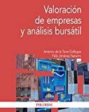img - for Valoraci n de empresas y an lisis burs til book / textbook / text book
