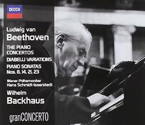 Beethoven: Piano Concertos, Diabelli Variations, Piano Sonatas Nos. 8, 14, 21 & 23 (Coffret 4 CD)