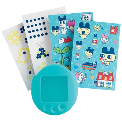 Tamagotchi Connection V 5 Tamagotchi Deco-ratchi Kit - New Skin Color and Mametchi stickers