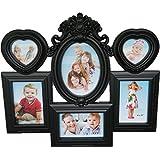 JaipurCrafts 6 Photos Collage Photo Frame (Photo Size - 15 X 10 Cm, 6 Photos) - B00WBZGAOC