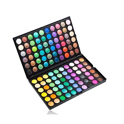 Pro 120 Colori Shimmer Nudo Tavolozza di Ombretti Trucco Make Up Palette Nuovo