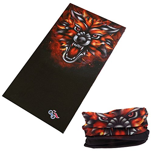 12-in-1-Outdoor-Magic-Scarf-for-ATVUTV-riding-Seamless-Bandanas-Tube-High-Elastic-Headband-with-UV-Resistance-Animal-Print-Series-Wolf