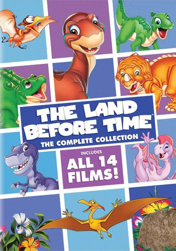 DVD : The Land Before Time: The Complete Collection (Boxed Set, Snap Case, 8 Disc)
