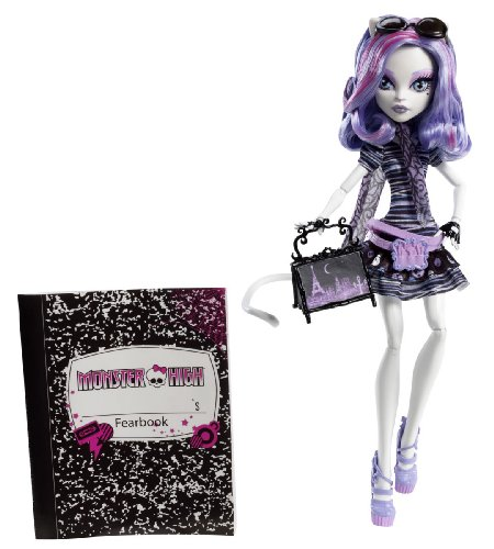 Monster High Travel Catrine DeMew Scaris City of Frights Exclusive - 1