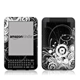 "Kindle Keyboard Skin - Radiosity - High quality precision engineered removable adhesive vinyl skin for the 3G + Wi-Fi 6"" E Ink Display Kindle 3by DecalGirl"