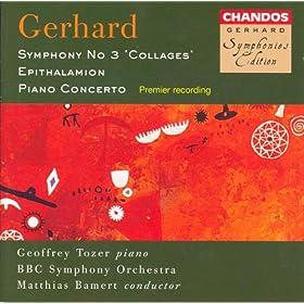 """Symphony No. 3, """"Collages"""": III. Allegro con brio -"""